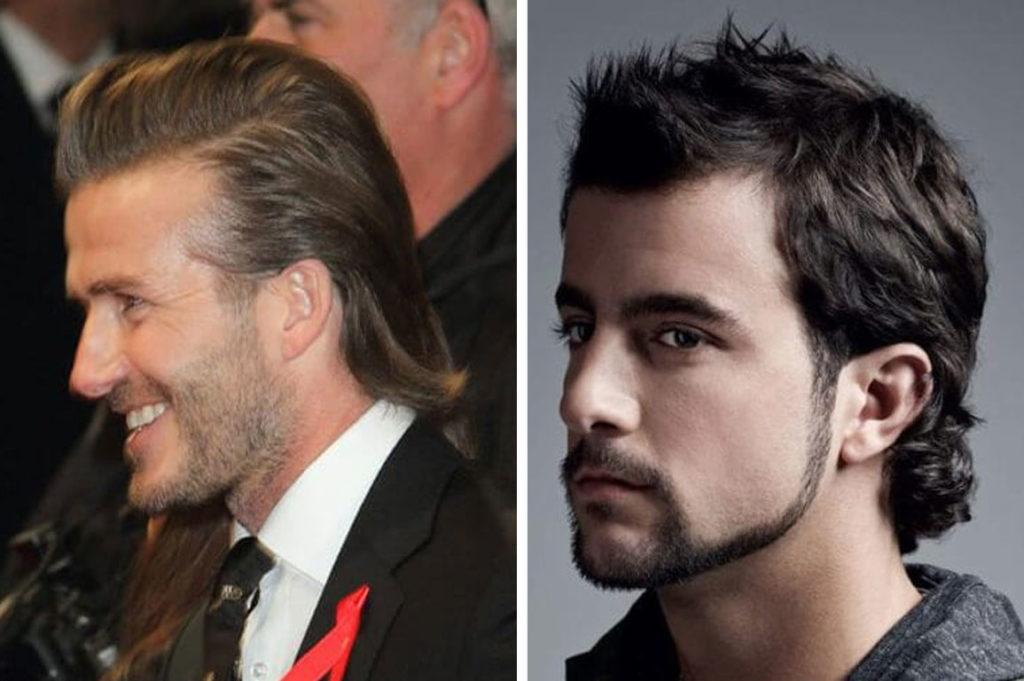 mullet hair w nowoczesnej odsłonie - fryzury męskie