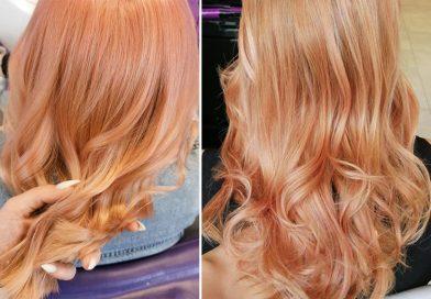 Brzoskwiniowy blond -blorange, Brzoskwiniowe włosy - jak wykonać farbowanie?